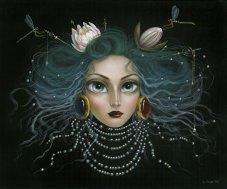 Leila-Ataya_Water-Princess_acrylic-on-board1