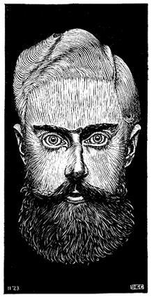 LW100-MC-Escher-Self-Portrait-1922