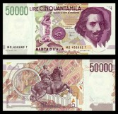 50.000 lire Gian Lorenzo Bernini