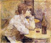 Suzanne Valadon ritratta da Henri de Toulouse-Lautrec