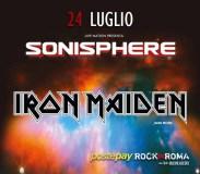 Iron Maiden and more al Rock in Roma domenica 24 Luglio 2016