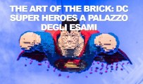 The Art of the Brick: DC Super Heroes di Nathan Sawaya con mattoncini Lego in mostra a Roma al Palazzo degli Esami dal 30 novembre 2017 al 25 febbraio 2018