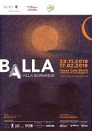 Balla a Villa Borghese: mostra con ingresso libero dal 29 novembre 2018 al 17 Febbraio 2019 a Roma al Museo Carlo Bilotti Aranciera di Villa Borghese