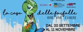 La Casa delle Farfalle: un eden tropicale nel cuore della città dal 30 settembre all'11 novembre 2018 in Via Appia Pignatelli a Roma
