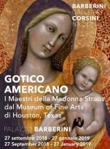Gotico americano. I Maestri della Madonna Straus in mostra a Roma a Palazzo Barberini dal 27 settembre 2018 al 27 gennaio 2019