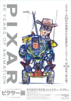 Pixar: 30 anni di animazione in mostra a Roma al Palazzo delle Esposizioni