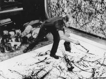 Jackson Pollock in mostra a Roma nell'autunno 2018 al Complesso del Vittoriano, Ala Brasini