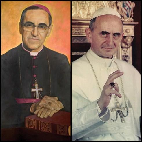 Canonizzazione di Papa Paolo VI e monsignor Oscar Romero il 14 ottobre 2018