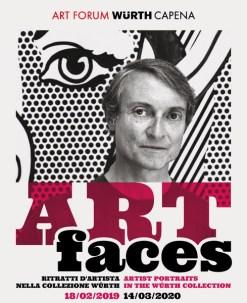 Art Faces. Ritratti d'artista nella Collezione Würth: mostra con ingresso libero dal 18 febbraio 2019 al 14 marzo 2020 all'Art Forum Würth Capena
