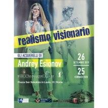 Il Realismo Visionario di Andrey Esionov nel Complesso Monumentale di San Salvatore in Lauro dal 26 settembre 2019 al 25 gennaio 2020